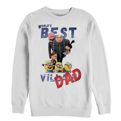Men's Despicable Me World's Best Villain Dad Sweatshirt