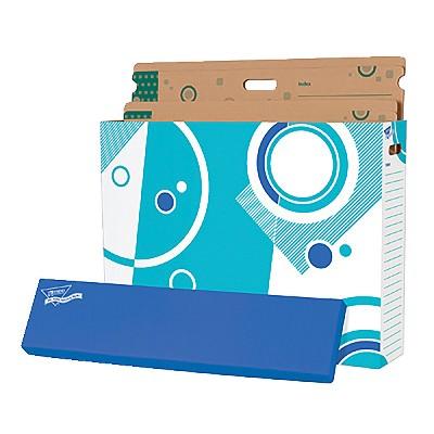 Trend Enterprises File N Save System Chart Storage Box, 30-3/4 X 23 X 6-1/2 in, 50 lb