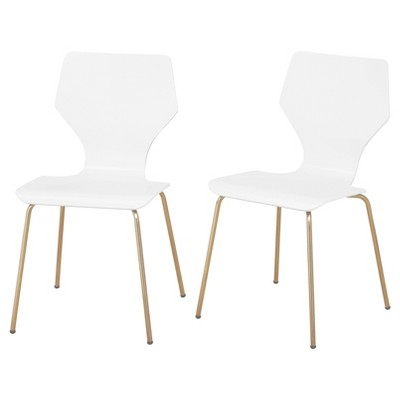 Set of 2 Enna Bentwood Chairs - angelo:HOME