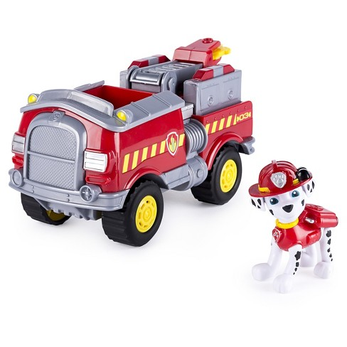 Paw Patrol, Marshall's Forest Fire Truck Vehicle, Figure and Vehicle - image 1 of 3