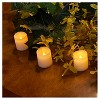 12ct Amber Battery Operated LED Votive Candles - image 4 of 4