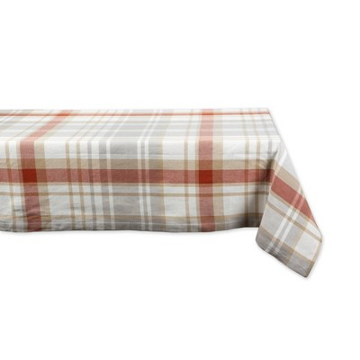 "60""x104"" Cozy Picnic Plaid Tablecloth - Design Imports"