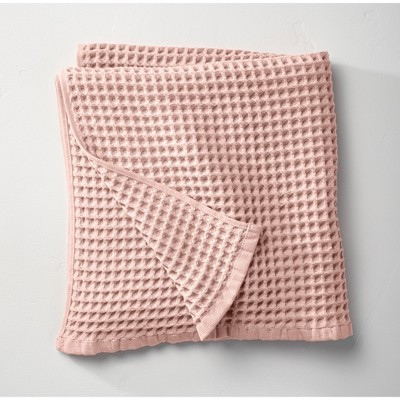 Waffle Bath Towel Light Blush - Casaluna™