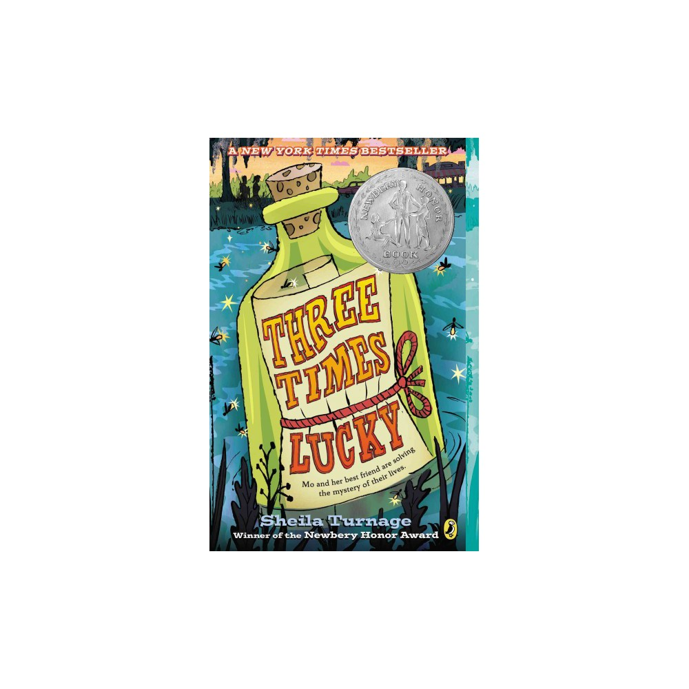 Three Times Lucky - Reprint by Sheila Turnage (Paperback)