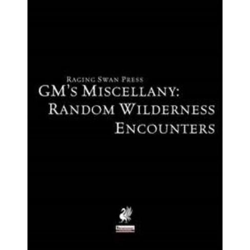 GM's Miscellany - Random Wilderness Encounters Softcover - image 1 of 1