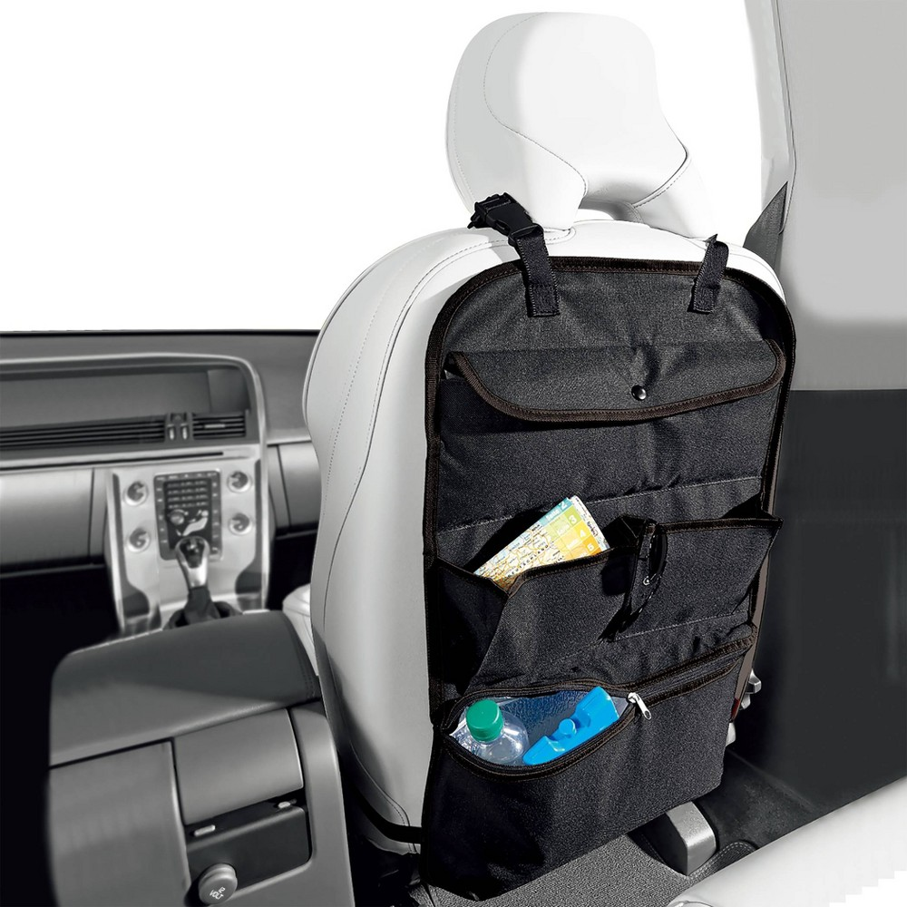 Back Seat Organizer With Cooler Black Turtle Wax
