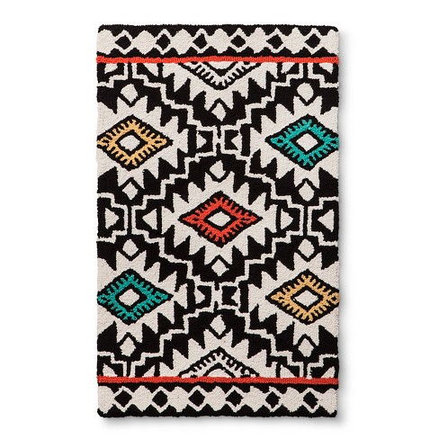 "Tribal Design Rugs 1'8""X2'10"" - Threshold™ - image 1 of 2"