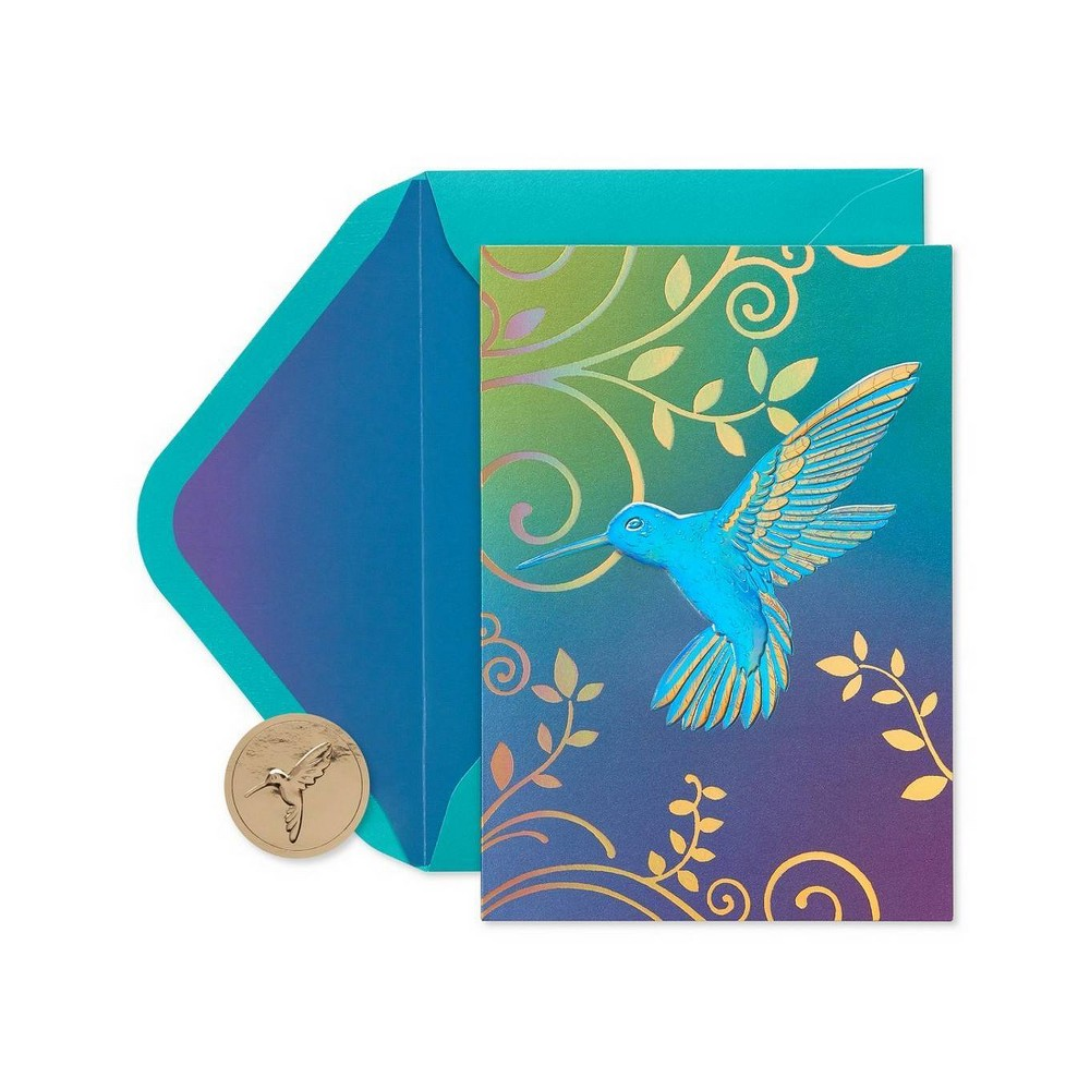 Image of 12ct Hummingbird Boxed Blank Note Cards - PAPYRUS