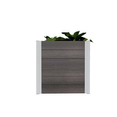 Urbana Cube Square Planter - New England Arbors