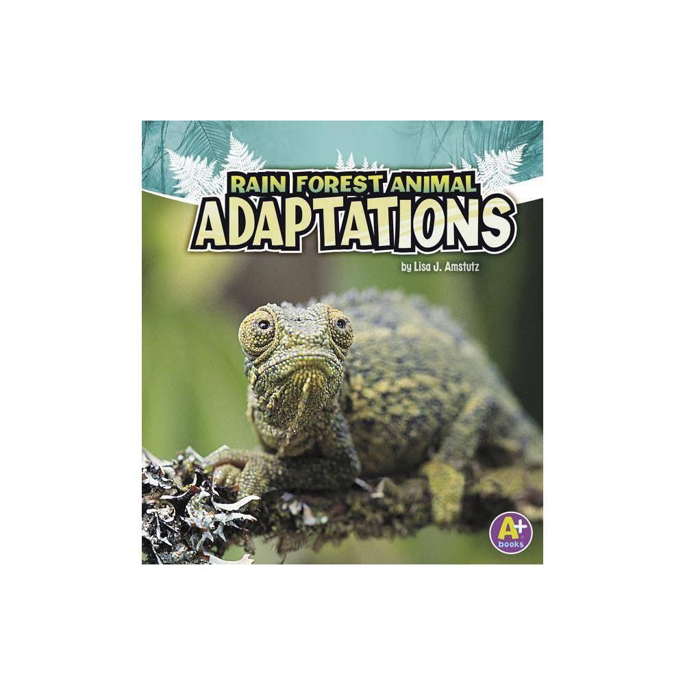 Rain Forest Animal Adaptations A Books Amazing Animal Adaptations By Lisa J Amstutz Paperback