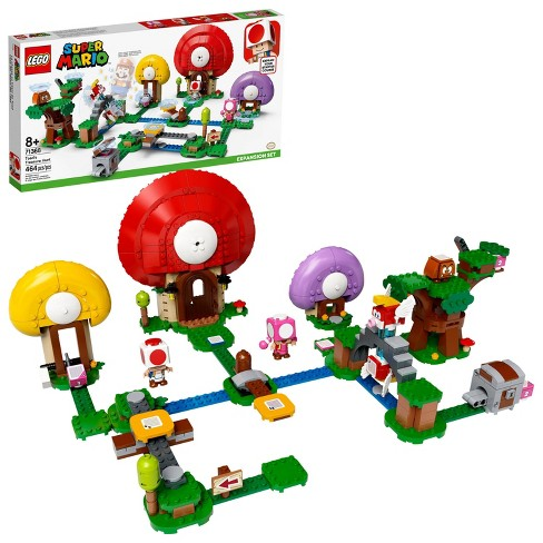LEGO Super Mario Toad's Treasure Hunt Expansion Set Unique Toy for Creative Kids 71368 - image 1 of 4