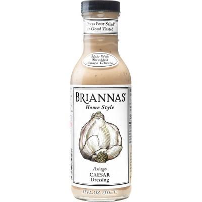 Brianna's Asiago Caesar Dressing - 12fl oz