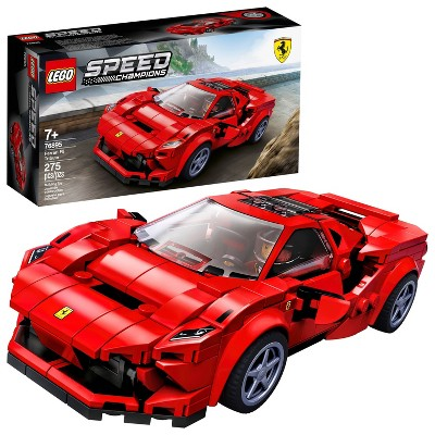 LEGO Speed Champions Ferrari F8 Tributo Toy Cars Building Kit 76895