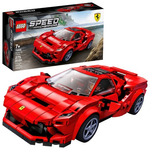 LEGO Speed Champions 76895 Ferrari F8 Tributo Toy Cars Building Kit - image 1 of 4