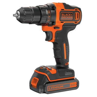 Black & Decker BDCDD220C 20V MAX Lithium-Ion 2-Speed 3/8 in. Cordless Drill Driver Kit (1.5 Ah)