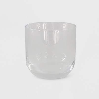 "2.9"" x 2.9"" Tealight/Votive Glass Candle Holder Clear - Made By Design™"