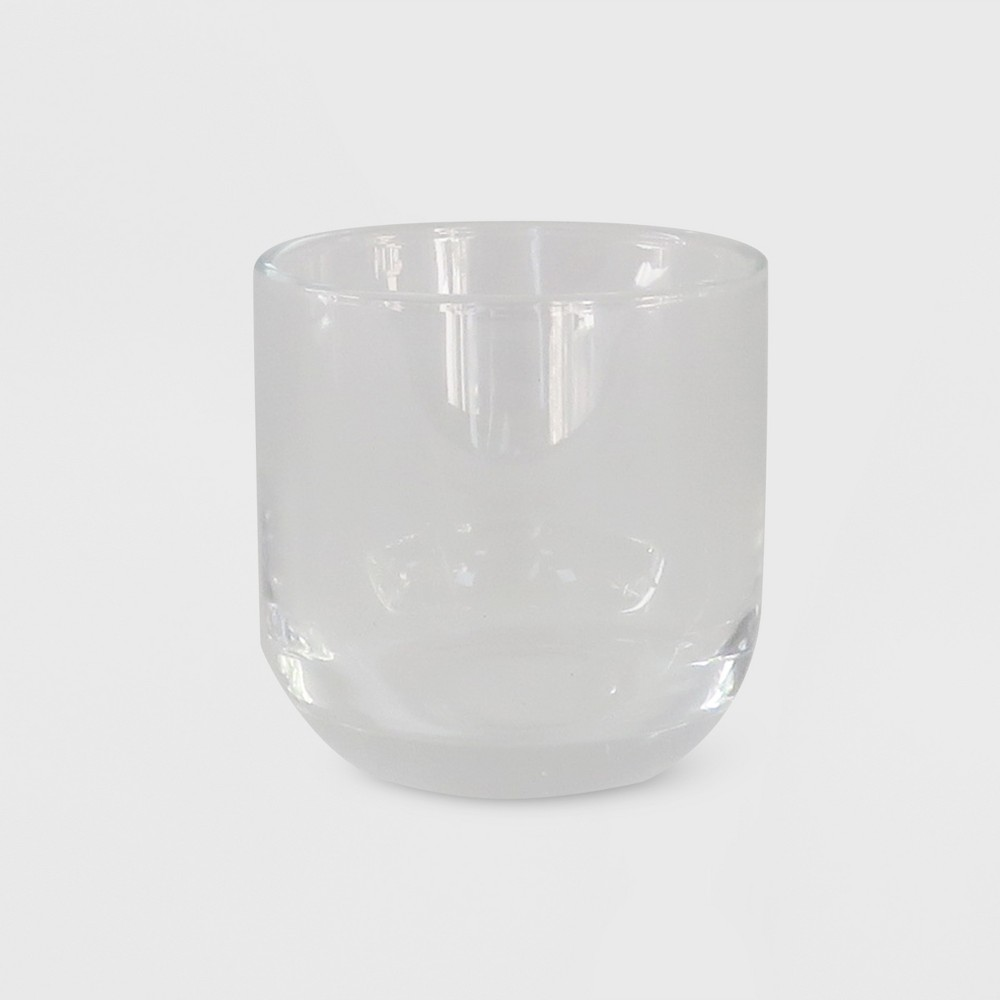"""Image of """"2.9"""""""" x 2.9"""""""" Tealight/Votive Glass Candle Holder Clear - Made By Design"""""""