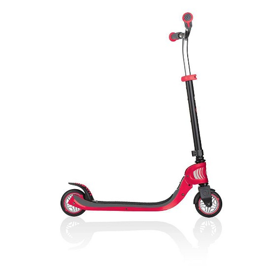 Globber Flow 125 Foldable Kick Scooter - Red, Kids Unisex image number null