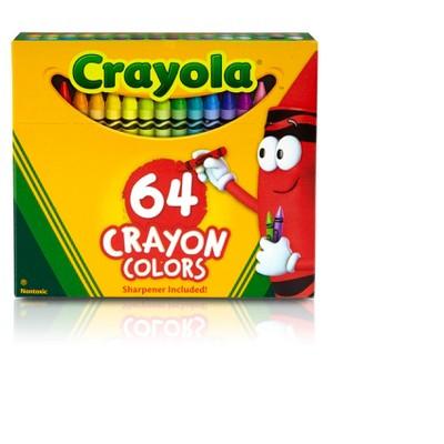 Crayola 64ct Classic Crayons with Sharpener