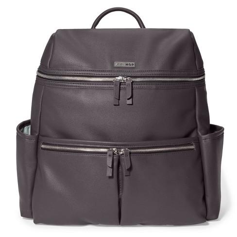 Skip Hop Flatiron Diaper Bag backpack - Gray Raisin - image 1 of 4