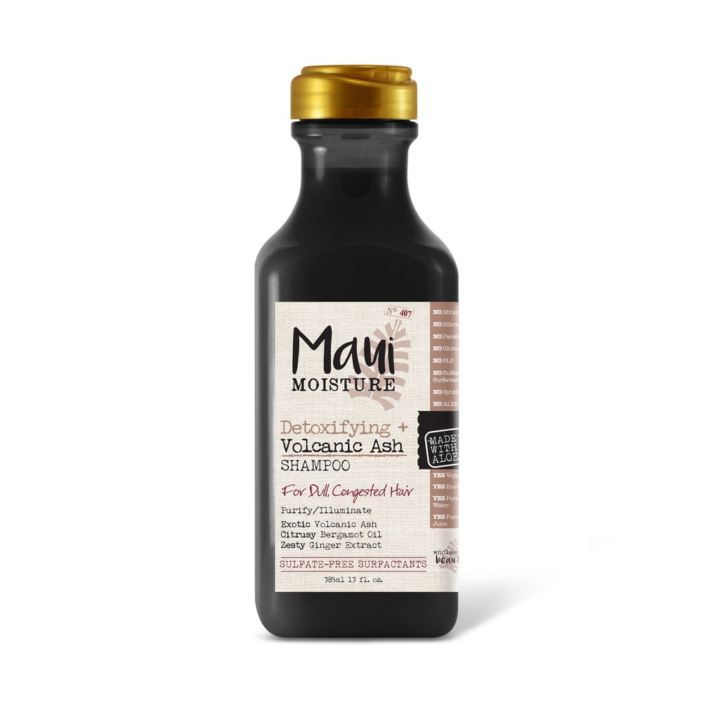 Image of Maui Moisture Detoxifying + Volcanic Ash Shampoo for Dull and Congested Hair - 13 fl oz