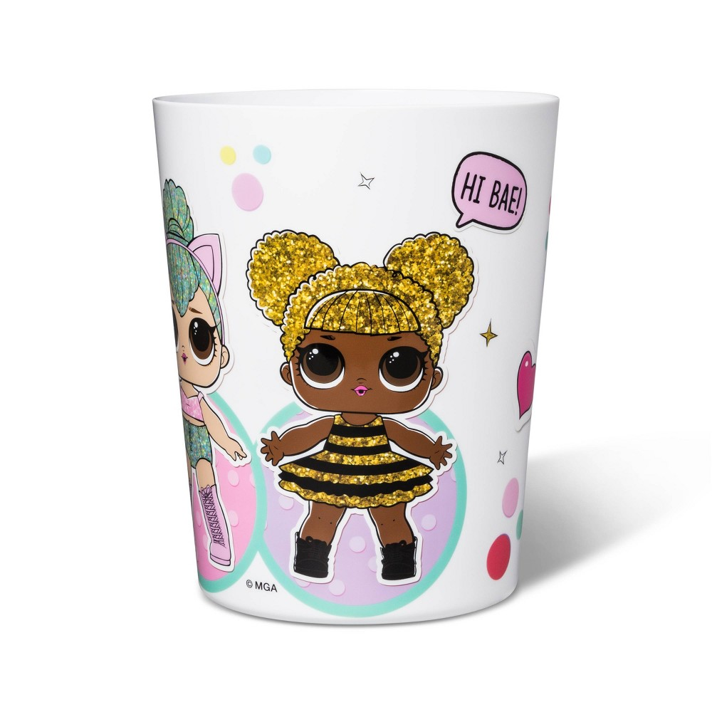 Image of L.O.L. Surprise! Cute But Fierce Bathroom Trash Bin