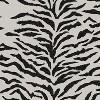 Zebra Square Throw Pillow Cream - Cloth & Co. - image 4 of 4