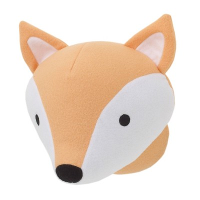 NoJo Little Love Plush Head Nursery Wall Decor - Fox