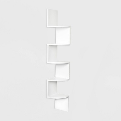 "48.5"" x 7.7"" Zigzag Corner Shelf - Danya B."