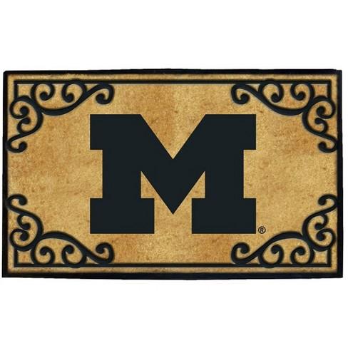 NCAA University of Michigan Door Mat - image 1 of 1