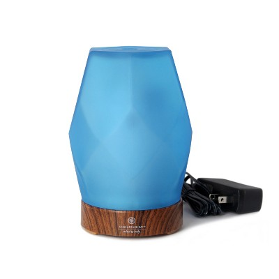 Essential Oil Diffuser Frosted Blue - Mind And Body By Chesapeake Bay Candle