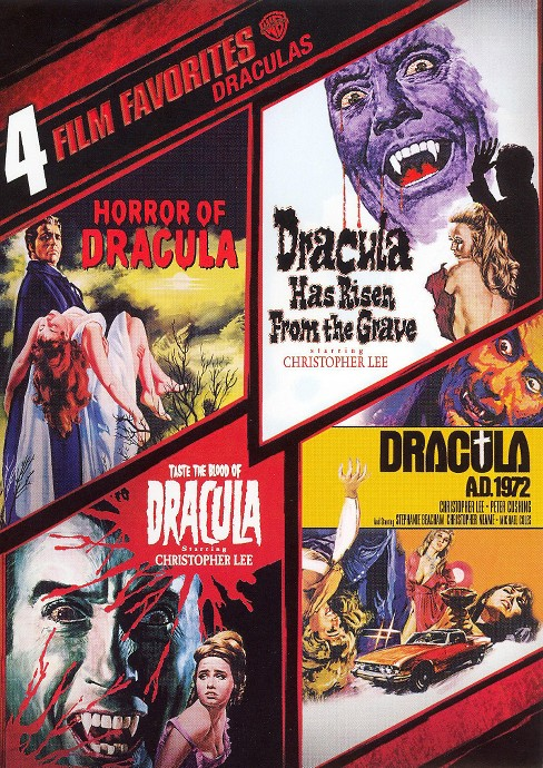 Draculas: 4 Film Favorites [2 Discs] - image 1 of 1