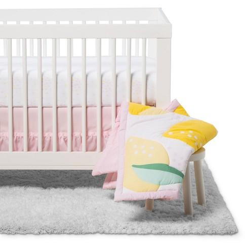 Crib Bedding Set Lemons 4pc Cloud Island Target