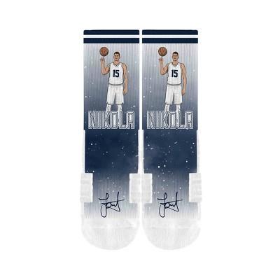 NBA Denver Nuggets Niokla Jokic Galaxy Socks