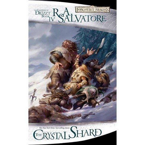 The Crystal Shard - (Legend of Drizzt)by R A Salvatore (Paperback)