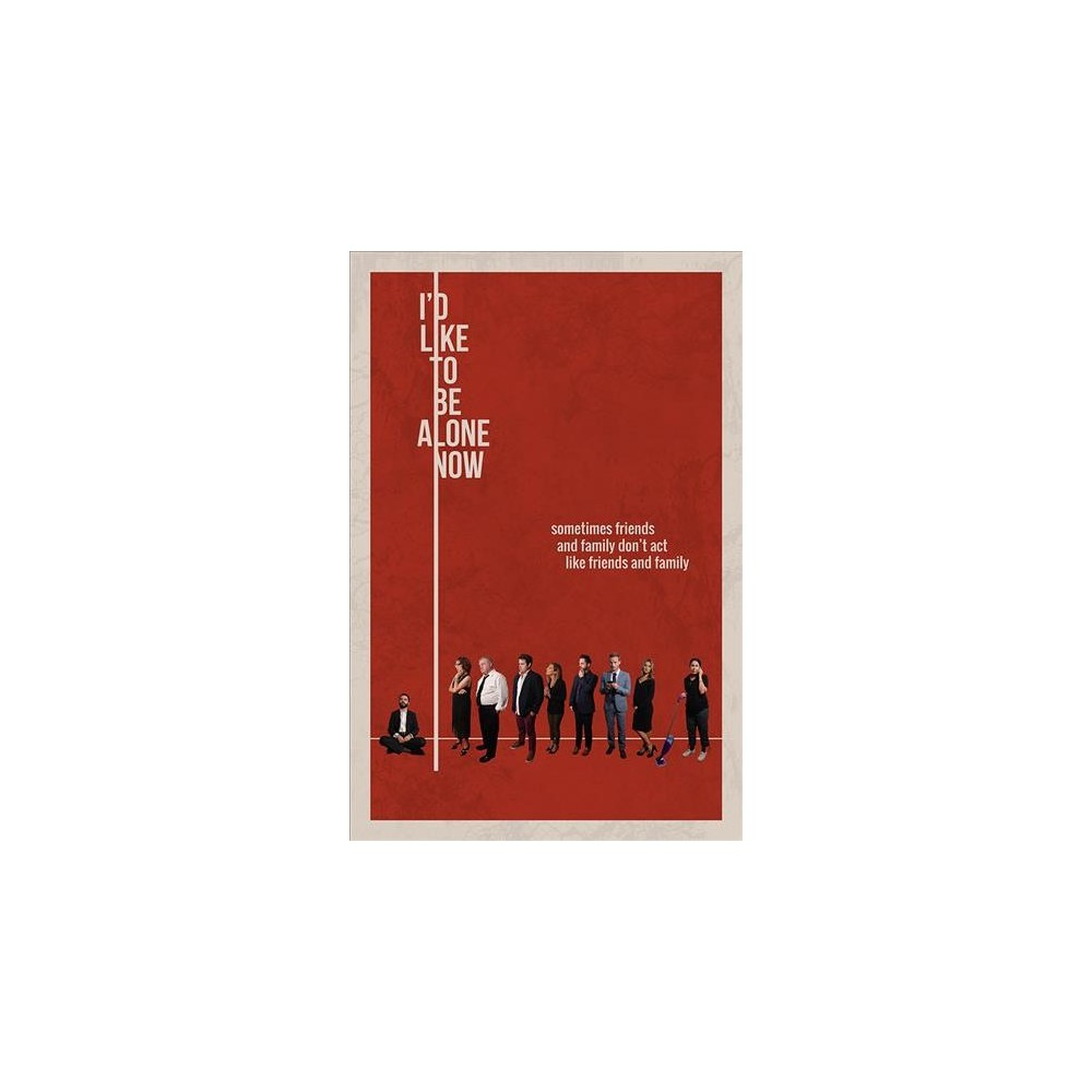 I'd Like To Be Alone Now (Dvd) I'd Like To Be Alone Now (Dvd)