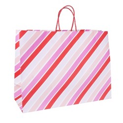 Large Diagonal Striped Vogue Bag - Spritz™