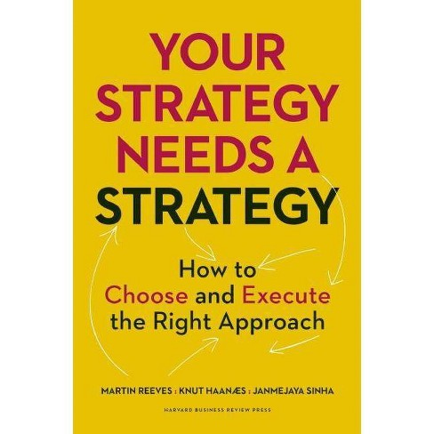 Your Strategy Needs a Strategy - by  Martin Reeves & Knut Haanaes & Janmejaya Sinha (Hardcover) - image 1 of 1