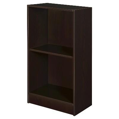 "29"" Mod 2 Shelf Bookcase Coffee - Niche"
