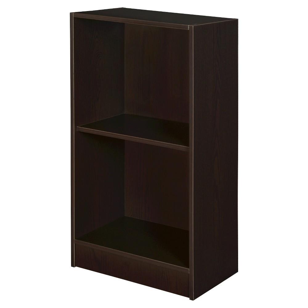 Image of Mod 2 Shelf Bookcase Coffee - Niche