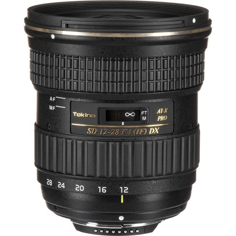 Tokina 12-28mm f/4.0 AT-X Pro DX Lens for Nikon - image 1 of 4