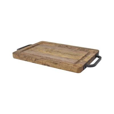 "14"" x 10"" Mango Wood Santoni Cutting Board - 222 Fifth"