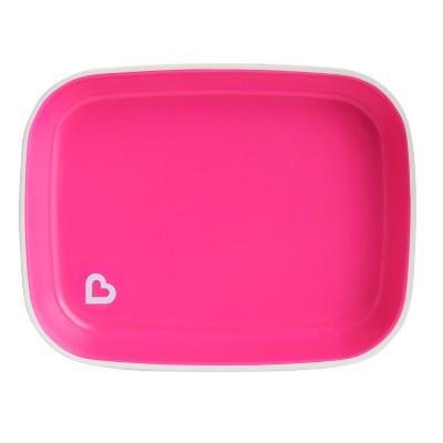 Munchkin Splash Flat Plate - Pink