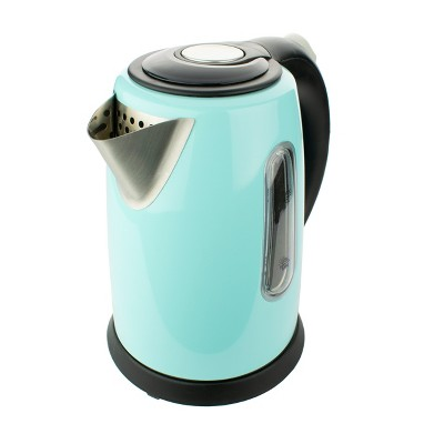 Brentwood 1 Liter Stainless Steel Cordless Electric Kettle