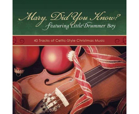 Mary Did You Know? : 40 Tracks of Celtic Christmas Music (CD/Spoken Word) - image 1 of 1