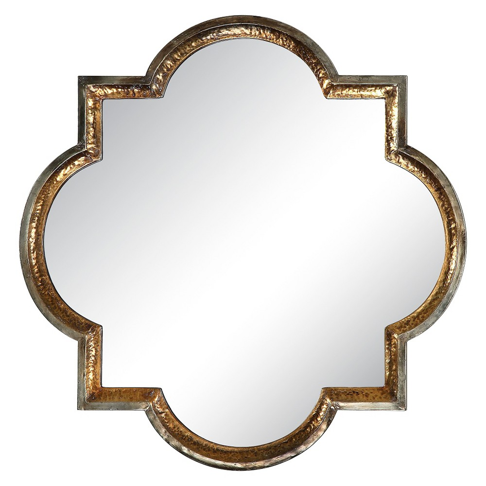 Image of Lourosa Gold Decorative Wall Mirror - Uttermost