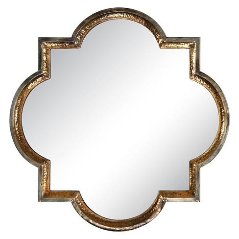 871080070c6 Lourosa Gold Decorative Wall Mirror - Uttermost   Target