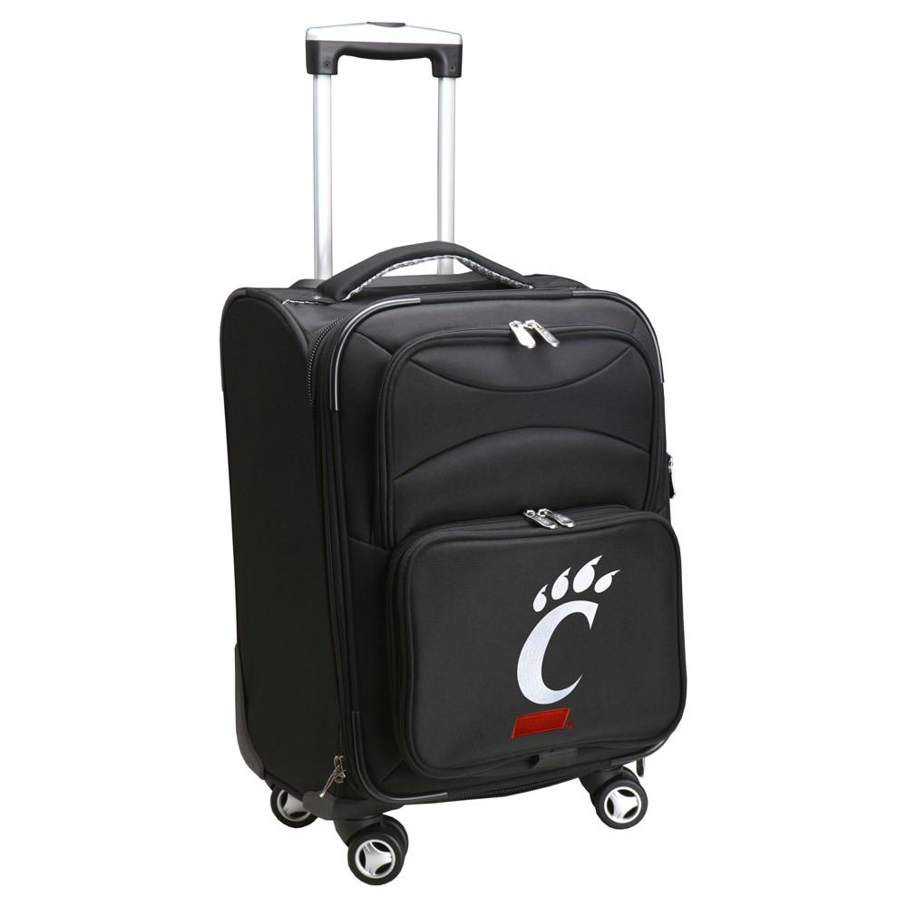 NCAA Cincinnati Bearcats Spinner Carry On Suitcase