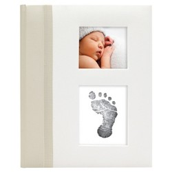 Pearhead Baby Memory Book - Ivory