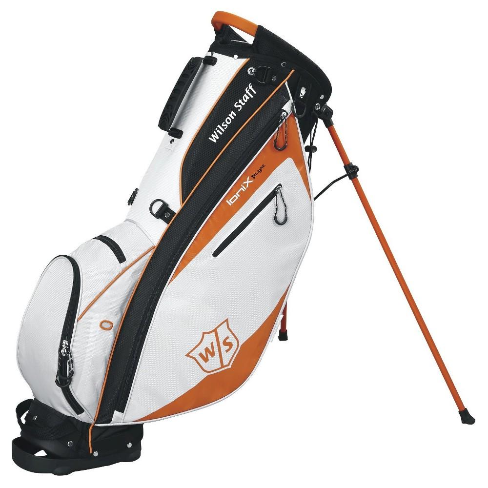 Wilson Ionix Lite Carry Golf Bag, Orange